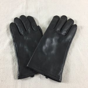 Thinsulate Black Insulated Leather Gloves Size XL